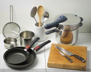 utensilios cocina profesional