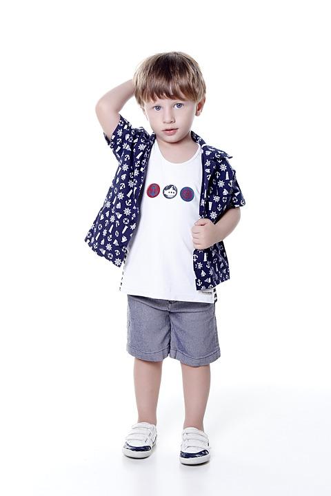 marca de moda infantil